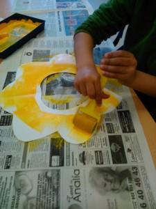 20. Pintando nuestros Girasoles (1)